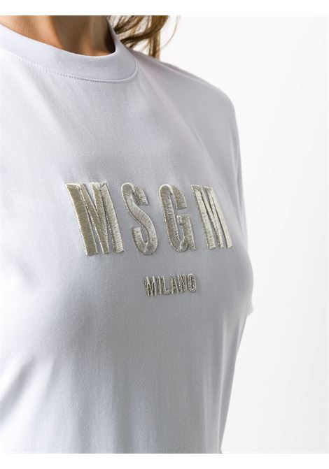 T-SHIRT BIANCA MSGM | T-shirt | 2941MDM19220779801