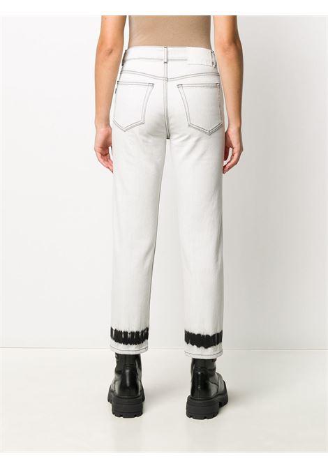 JEANS BIANCO MSGM | Pantalone | 2941MDP49L20761202