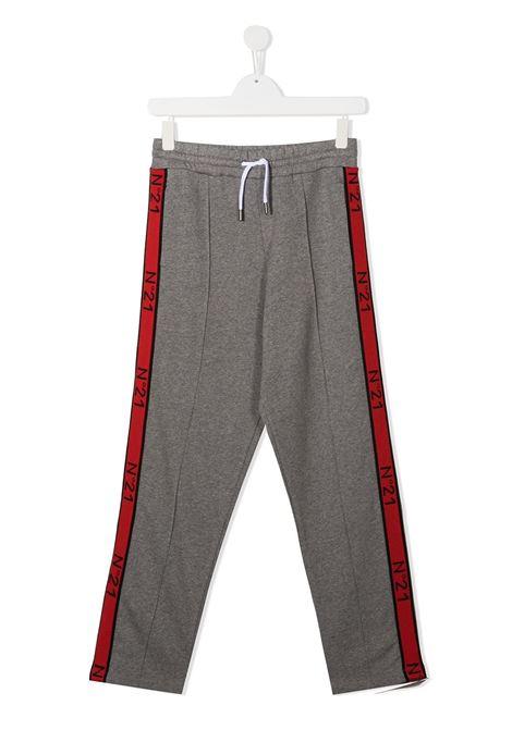 PANTALONE GRIGIO N°21 KIDS | Pantalone | N214CWN0079N21P55MN901##