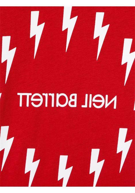 maglia rossa NEIL BARRETT KIDS | T-shirt | 026010040#