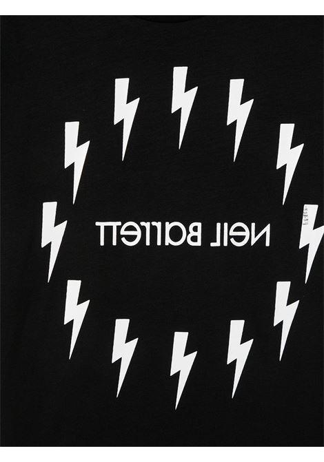 maglia nera NEIL BARRETT KIDS | T-shirt | 026010110#