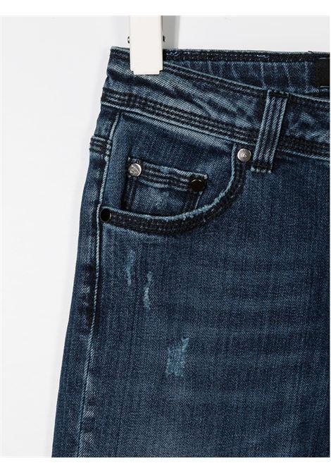 JEANS BLU NEIL BARRETT KIDS | Pantalone | 026020126#