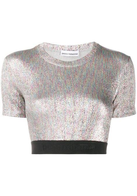 maglia silver PACO RABANNE | Top | 20AJT0002VI0261M973