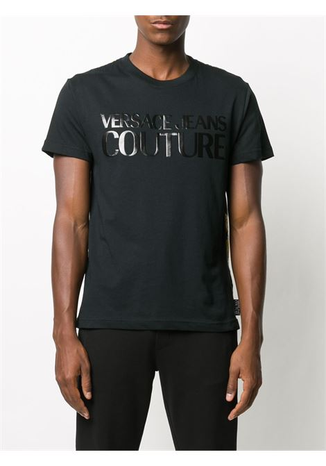 T-SHIRT NERA VERSACE JEANS COUTURE | Maglia | B3.GZA7S0.S0831899