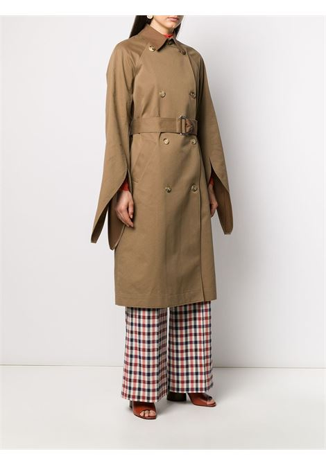 trench beige VICTORIA BECKHAM | Cappotto | 2320WCT001434ABROWN