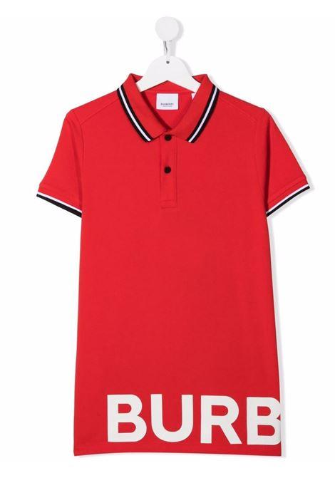 LONG POLO BURBERRY KIDS | Polo | 8039531A1460##