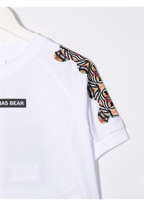 T-SHIRT STAMPA SPALLE BURBERRY KIDS | T-shirt | 8041212A1464#