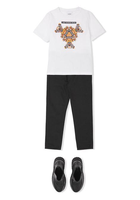 T-SHIRT STAMPA BURBERRY KIDS | T-shirt | 8041229A1464#