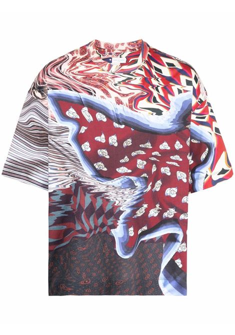 T-SHIRT DRIES VAN NOTEN   T-shirt   HENPR3606BUR