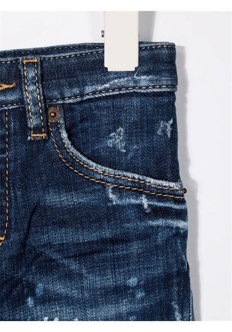 DENIM ROTTURE DSQUARED KIDS | Jeans | D2P224UDQ03NPD007SDQ01#
