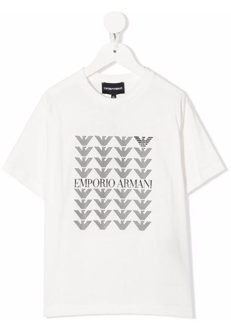 T-SHIRT GIORGIO ARMANI KIDS   T-shirt   6K4TJM4J4JZ0101#