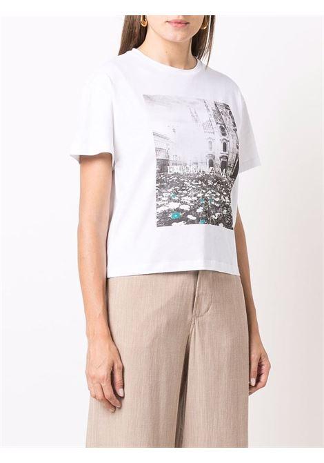 T-SHIRT GIORGIO ARMANI | T-shirt | 6K2T7C2J53Z0100