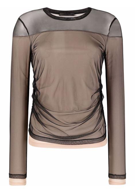 T-SHIRT MESH HELMUT LANG | T-shirt | L04HW514001