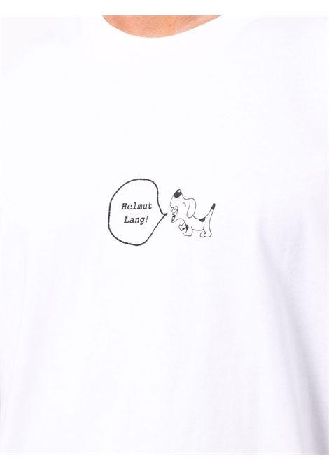 T-SHIRT STAMPA HELMUT LANG | T-shirt | L05HM508VO2