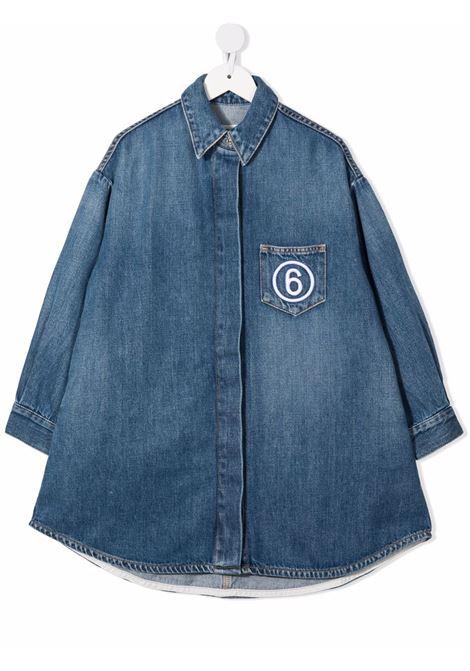 DENIM CHEMISIER MM6 MAISON MARGIELA | Dress | MM6D4UM60055MM017M601#