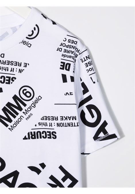 FRAGILE TEE MM6 MAISON MARGIELA | T-shirt | MM6T11UM60040MM012M6100#