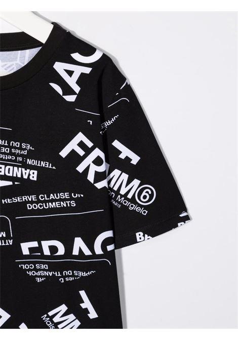 FRAGILE TEE MM6 MAISON MARGIELA | T-shirt | MM6T11UM60040MM033M6900#