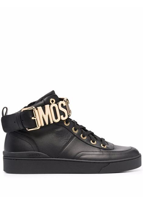 SNEAKERS ALTE MOSCHINO | Sneaker | MB15503G0DGA0000NERO/ORO