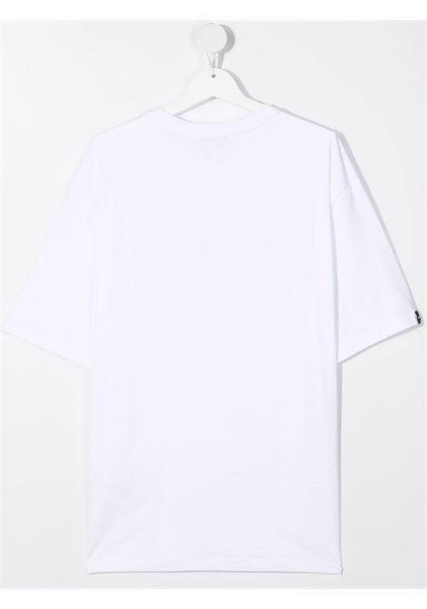 GLITTER LOGO TEE MSGM kids   T-shirt   MS027706001##