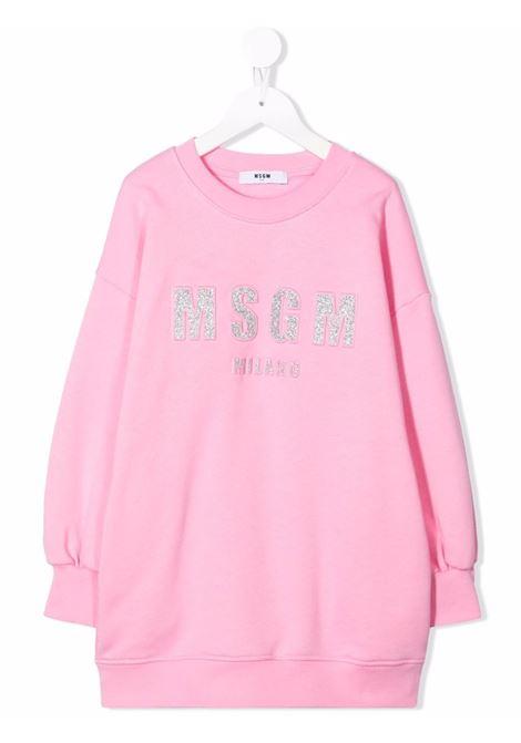 LONG HOODIE MSGM kids | Dress | MS027710042#