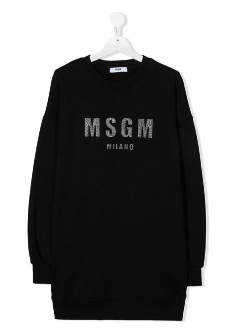 LONG HOODIE MSGM kids | Dress | MS027710110##