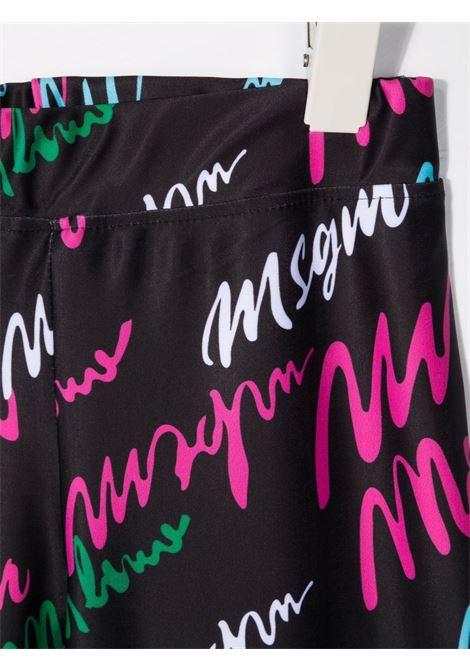 LEGGINS LOGO MSGM kids | Leggings | MS027765110#