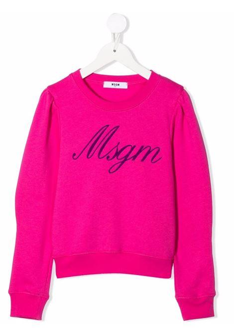 LOGO SWEAT MSGM kids |  | MS027767044#