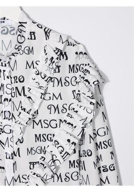 SHIRT MSGM kids | Shirt | MS027798001##