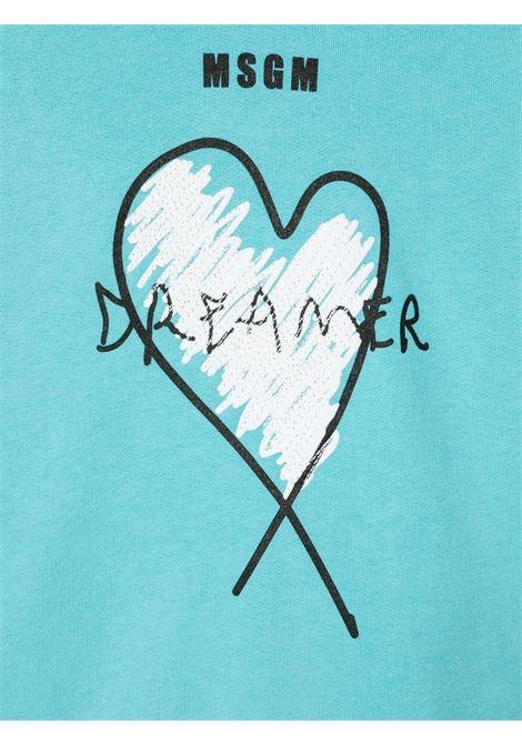 HOODIE DREAMER MSGM kids | Hoodie | MS027813076##