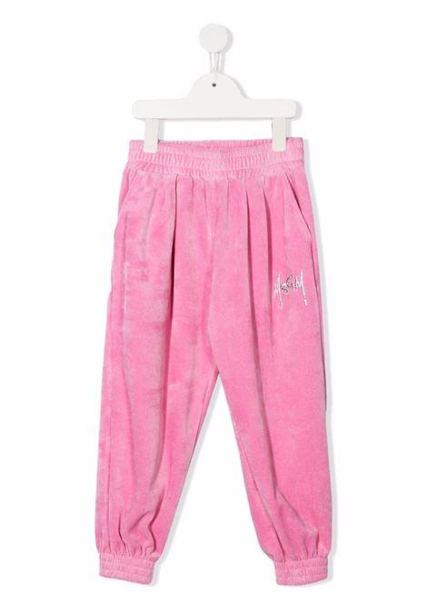 TRACK PANTS MSGM kids | Trousers | MS027854042#