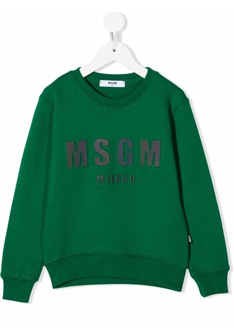 LOGO SWEAT MSGM kids |  | MS027863088#