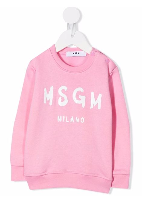 LOGO TEE MSGM kids |  | MS027872042
