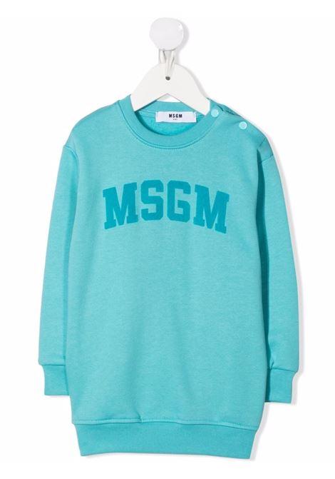 LOGO DRESS MSGM kids | Vestito | MS027875076