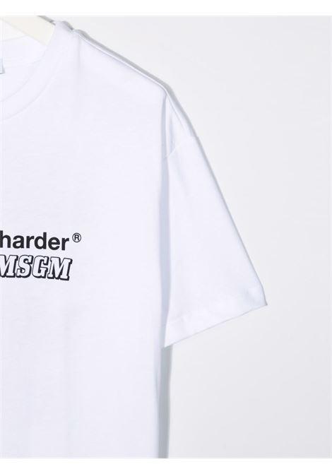 T-SHIRT LETTERING MSGM kids | T-shirt | MS027915001#
