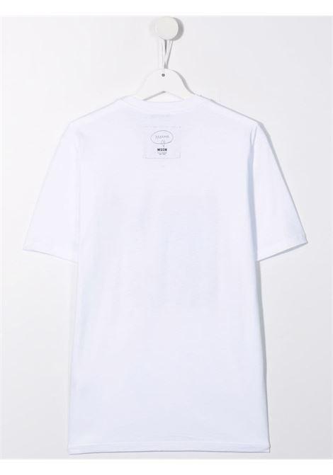 T-SHIRT MULTI LOGO MSGM kids | T-shirt | MS027933001##