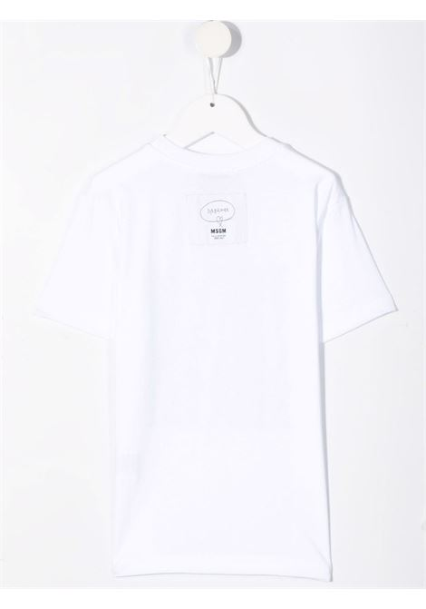 T-SHIRT MULTI LOGO MSGM kids | T-shirt | MS027933001#