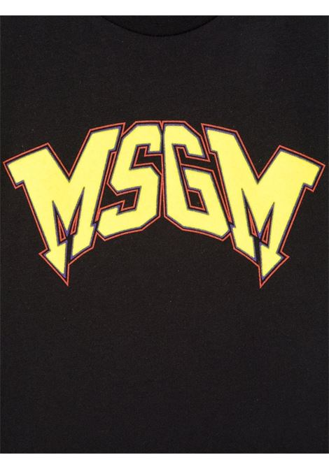 T-SHIRT LOGO MSGM kids | T-shirt | MS028717110/28#