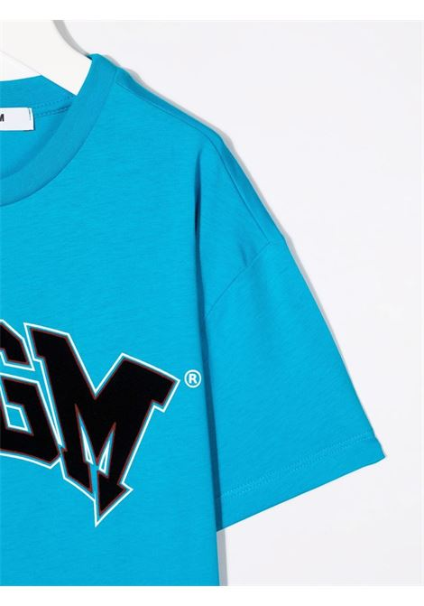 T-SHIRT LOGO MSGM kids | T-shirt | MS028717120#