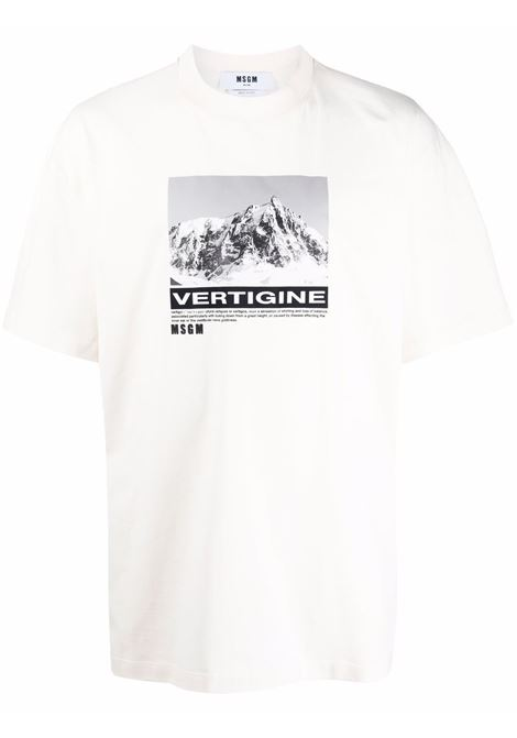 T-SHIRT MSGM | T-shirt | 3140MM18021759802