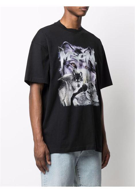 T-SHIRT MSGM | T-shirt | 3140MM9821759899
