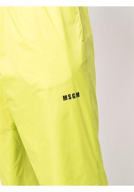 TRACK PANTS MSGM | Pantalone | 3140MP07X21770236