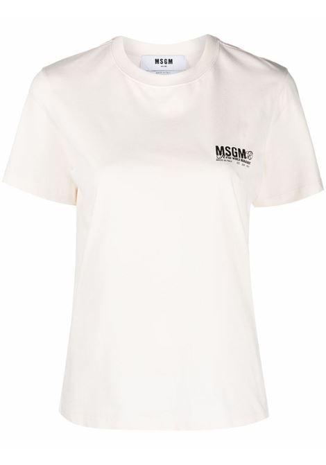 T-SHIRT MSGM | T-shirt | 3141MDM10721779802