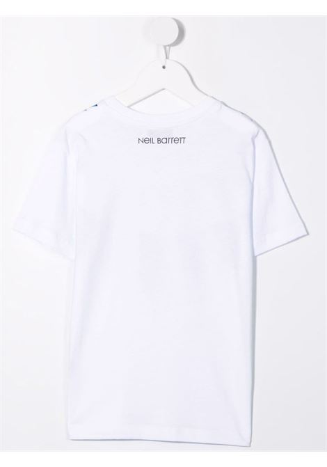 THUNDERBOLT TEE NEIL BARRETT KIDS   T-shirt   028933001#