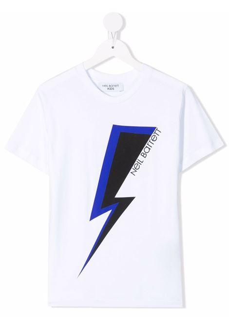 THUNDERBOLT TEE NEIL BARRETT KIDS   T-shirt   028934001#