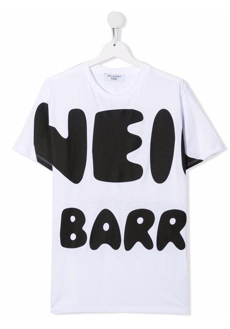 SLOGAN TEE NEIL BARRETT KIDS   T-shirt   028937001##