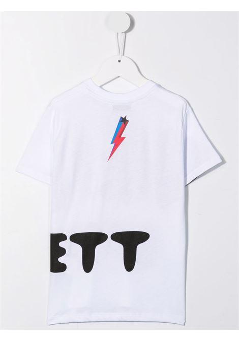 SLOGAN TEE NEIL BARRETT KIDS   T-shirt   028937001#