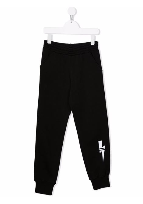 TRACK PANTS NEIL BARRETT KIDS | Trousers | 028961110#