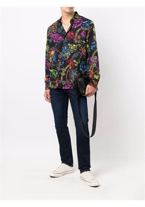 PRINT SHIRT VERSACE JEANS COUTURE | Shirt | 71GAL2R0NS007899