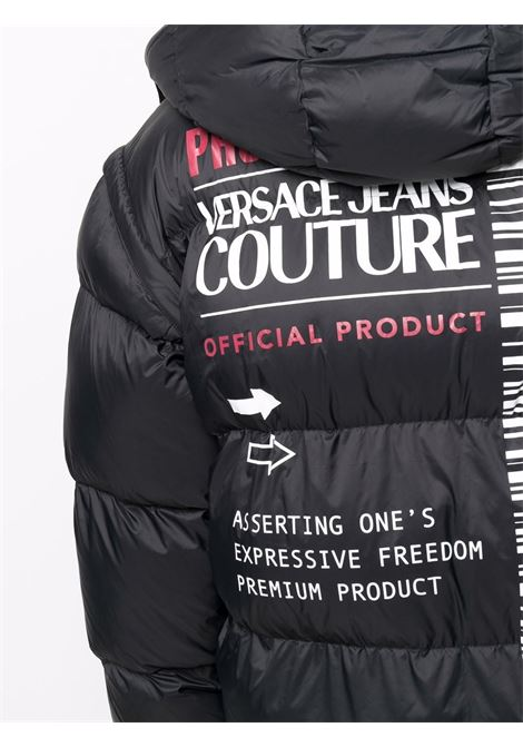 PADDED COAT VERSACE JEANS COUTURE      71GAU411CQS08899