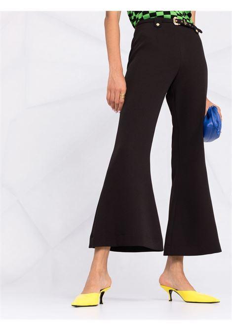 PANTALONE FLARE VERSACE JEANS COUTURE | Pantalone | 71HAA111N0006899